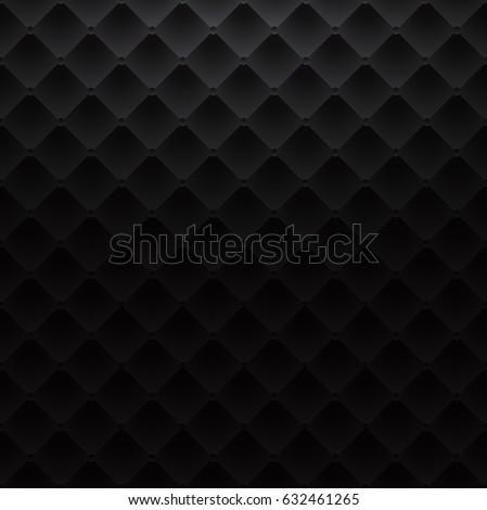 black square luxury pattern