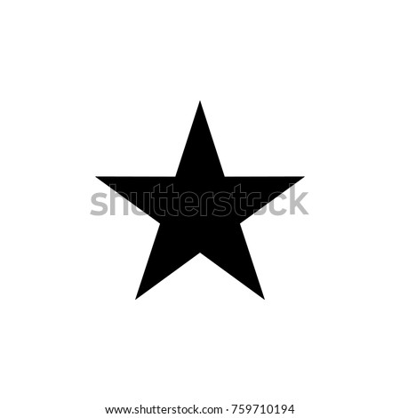 black star icon logo