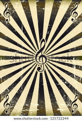 Black sunbeam music. A musical background for your party