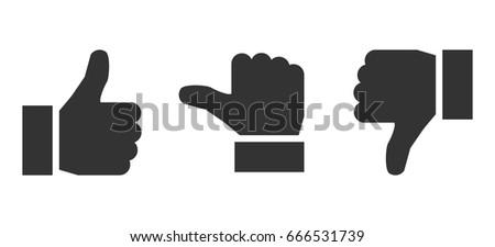 black valuation thumbs   stock