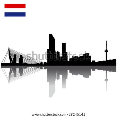 black vector rotterdam