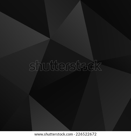 black vector simple triangle