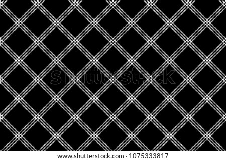 stock-vector-black-white-check-fabric-texture-simple-seamless-pattern-vector-illustration