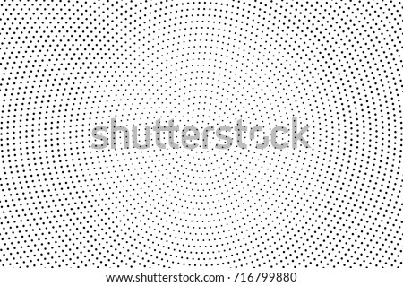 black white dotted halftone