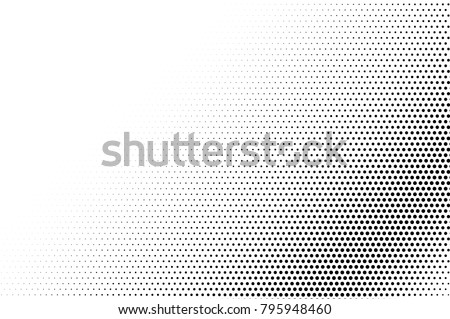 Shutterstock Black white dotted halftone vector background. Faded dotted gradient. Monochrome halftone pop art design. Abstract grayscale halftone texture. Black ink dot vintage overlay. Retro halftone template