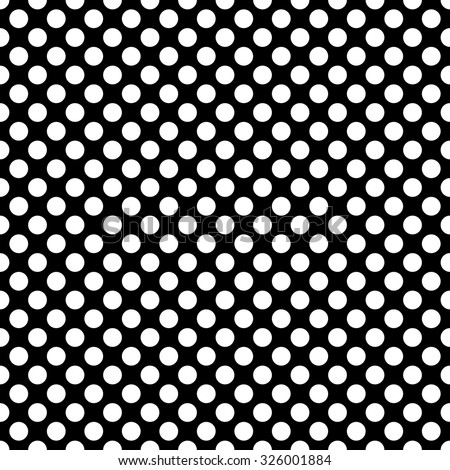 Black and white polka dot pattern - photo#15