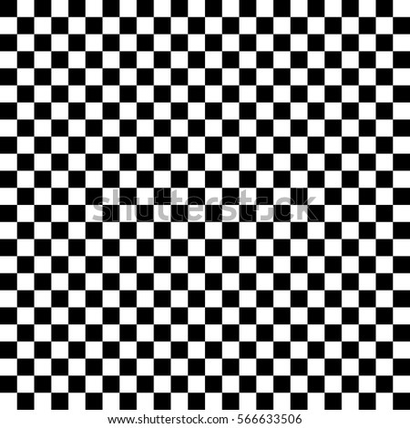 black white squares. chess background. abstract lattice. vector illustration.