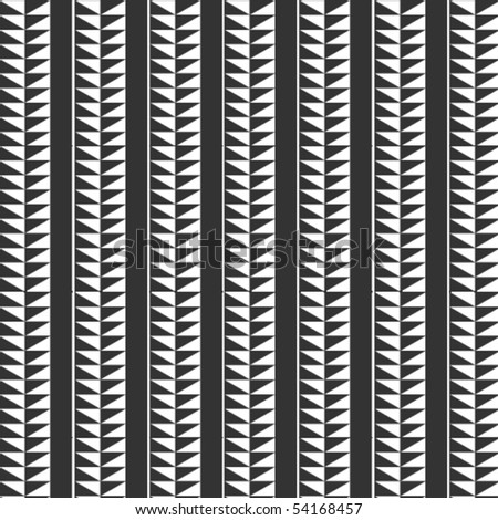 Black & white, vertical, vector pattern
