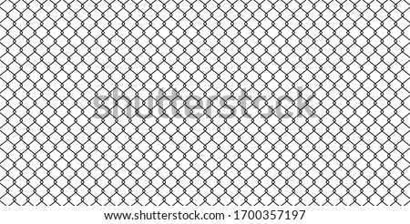black wire mesh isolated on white background, barrier net, wire net metal wall, barbed wire fence, black grid for backdrop, fence barb for construction zone, wire grid of fence for wallpaper, vector