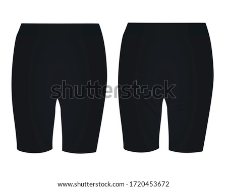 black woman cycling shorts