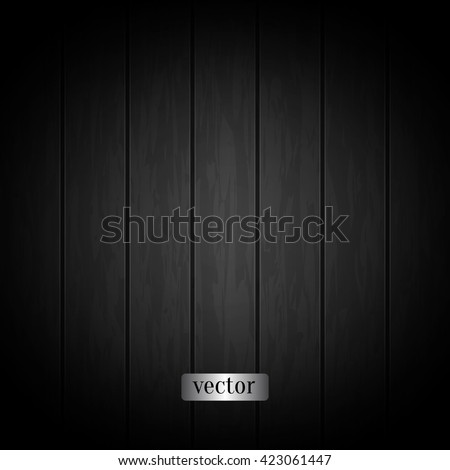 black wood texture with wood