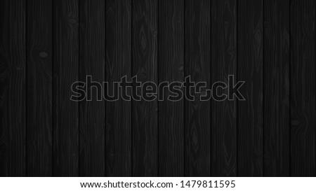 black wooden panels vector
