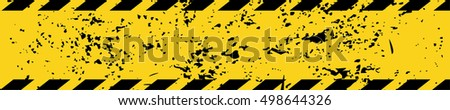 black yellow road sign