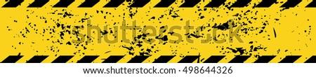 black yellow road sign