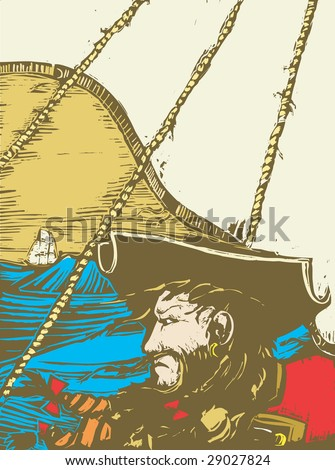blackbeard the pirate on the