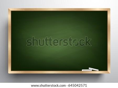blackboard background and...
