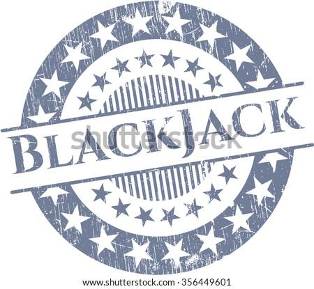 BlackJack rubber grunge seal