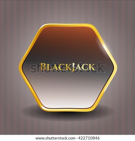 BlackJack shiny badge