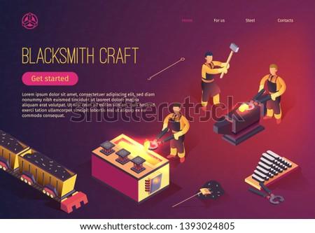 blacksmith craft at