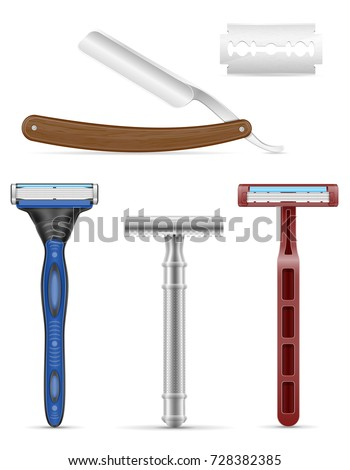 blade and razor for shaving