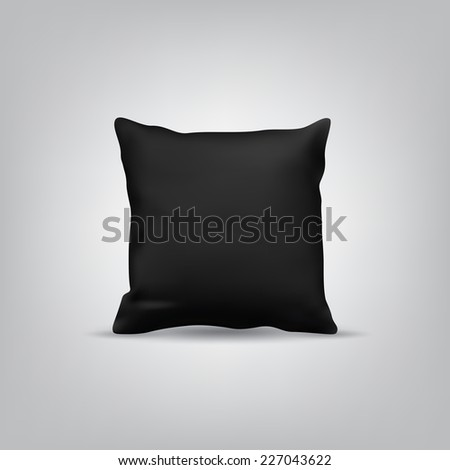 Blank Black Cushion/Pillow