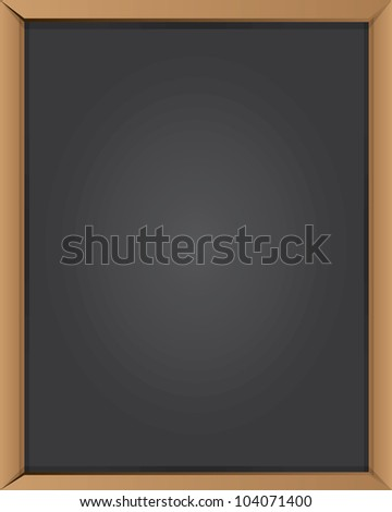 Blank blackboard for text,Vector