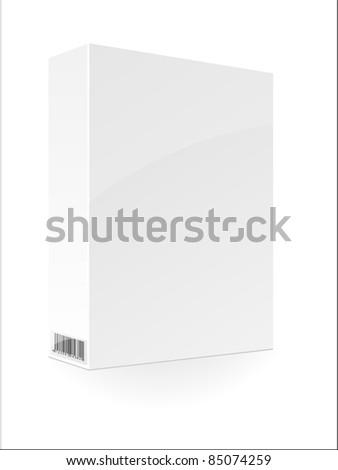 Blank box. Vector.