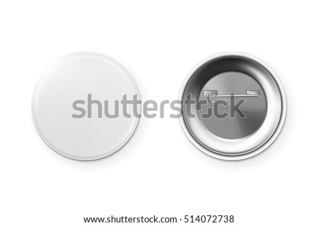 Blank button badge.