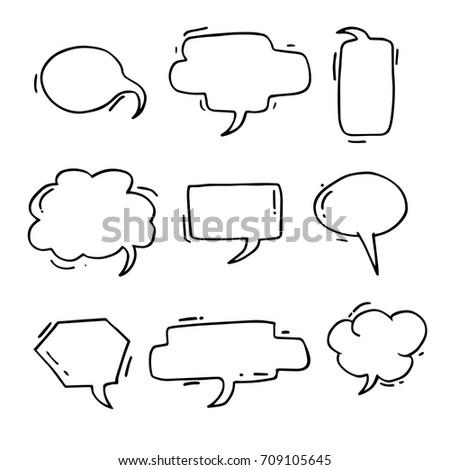 blank cartoon comic bubble