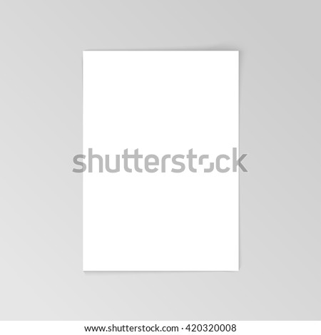 blank flyer poster  mockup