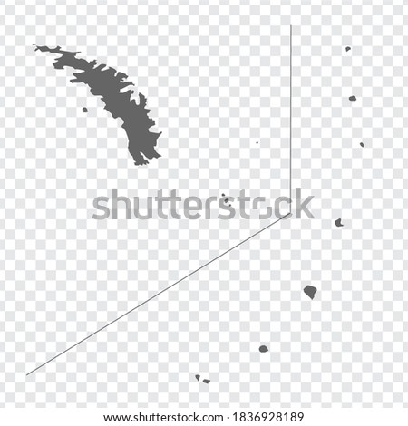 blank map south georgia and the