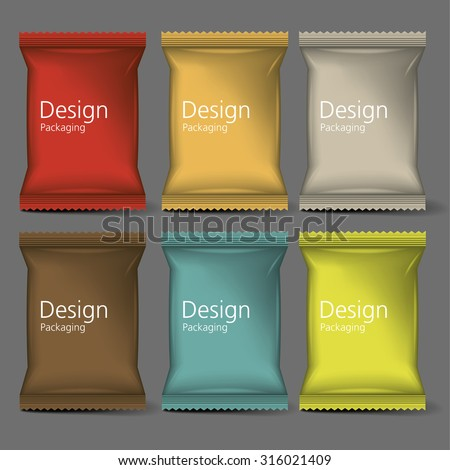 blank packaging mock up  3d