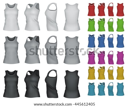blank sport tank top for women