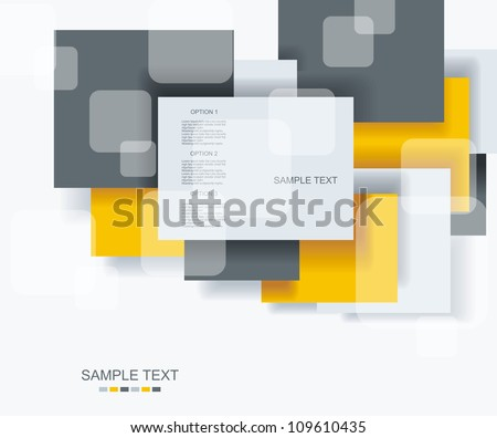 blank square background for