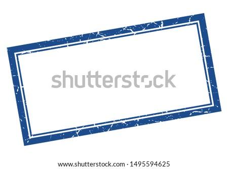 blank stamp. blank square grunge sign. blank