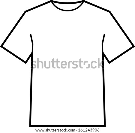 Baseball t Shirt Vector Template Blank T-shirt Template Vector