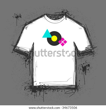 blank t shirt template psd. lank t shirt outline. stock