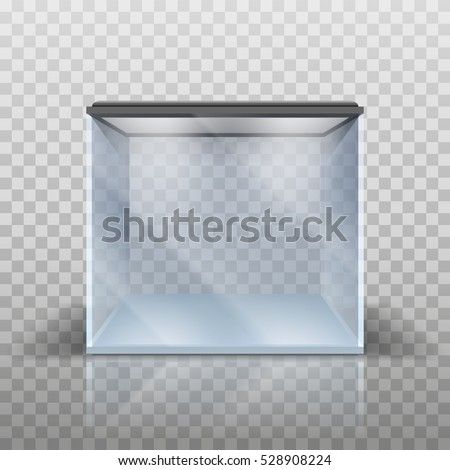 blank vector aquarium on a
