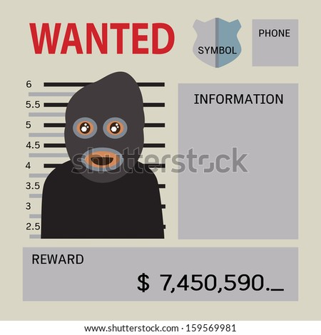 blank wanted reward banner