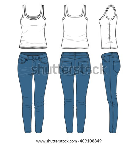 blank wear templates women's