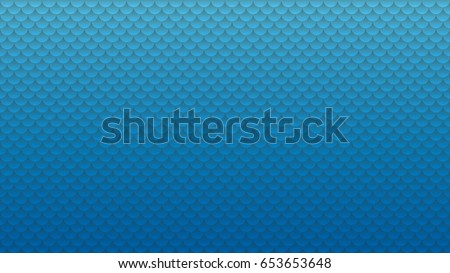 Blank Wide screen webpage or business presentation abstract background with copyspace. HD 16x9 semi circles vector pattern.