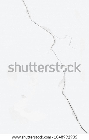 bleached wall with a faulty