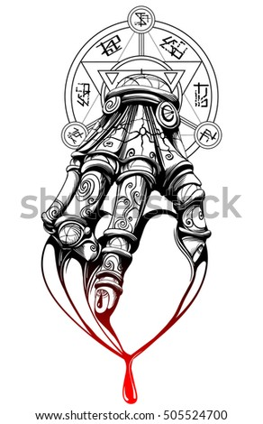 bleeding heart in hand