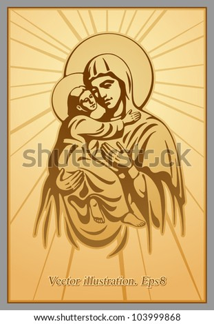 Blessed Virgin Mary, Jesus Christ, blessing, Christianity