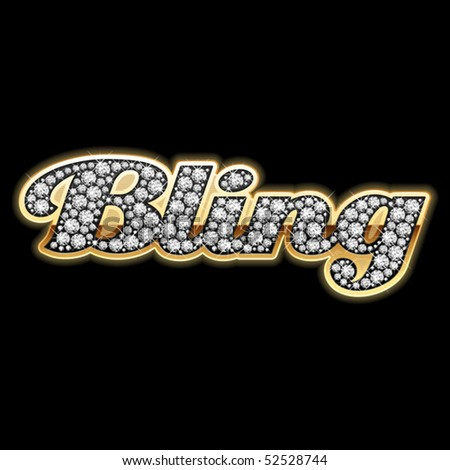Bling-Bling Style. Detailed Vector. - 52528744 : Shutterstock