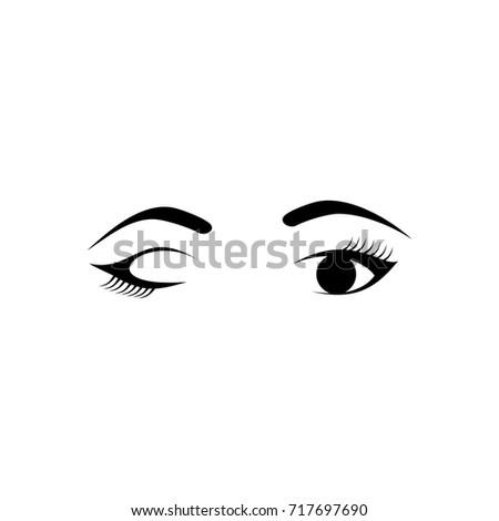 Blinking Eye Logo Design II