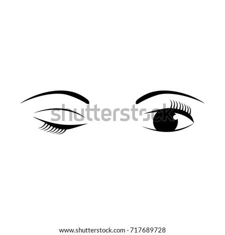 Blinking Eye Logo Design IV