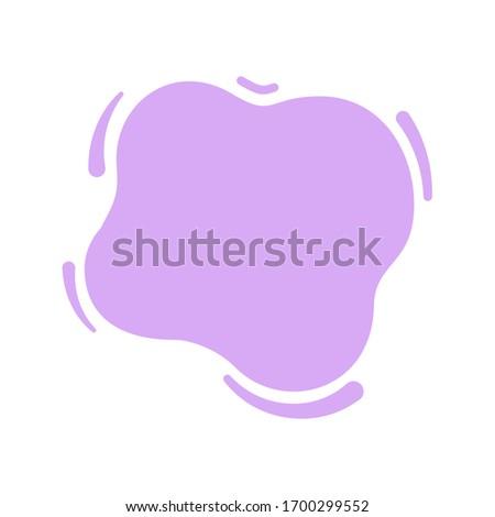 blob shape purple soft for banner copy space, aqua background, blob splash purple pastel color, water blobs droplet wave shape for element banner, blob round shape simple for graphic ad design, vector