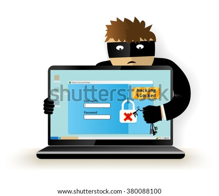 blocking a hacker attackhacker