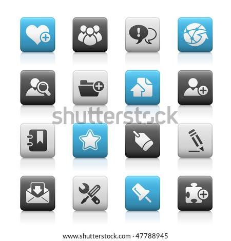 blog   internet web icons